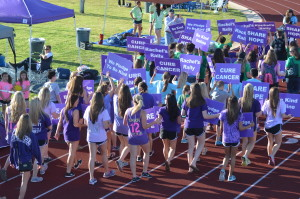 One of the many Relay For Life events in the US.
